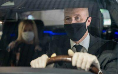 Coronavirus, in limousine viaggi al sicuro